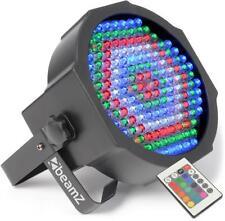 PROJECTEUR PROJO PAR DMX 8 CANAUX 154 x LED 10 mm RGB AVEC TELECOMMANDE IR