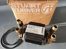 SUPERB STUART TURNER MONSOON 2.0 BAR TWIN STANDARD SHOWER PUMP 46415