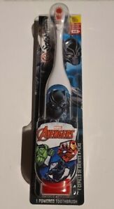 NEW! Marvel Avengers Black Panther Kids Spinbrush Soft Electric Toothbrush