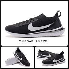 Nike Cortez Flyknit QS, Negro Y Blanco AA2029-001, Reino Unido 9, 44 de la UE, EE. UU. 10
