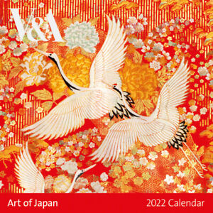Museums & Galleries Art of Japan V&A Museum 2022 Square Wall Calendar (CLL791)