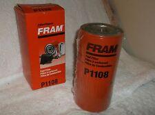 Fram P1108 SECONDARY Fuel Filter INTERNATIONAL COMBINE TRACTOR LOADER SCRAPER