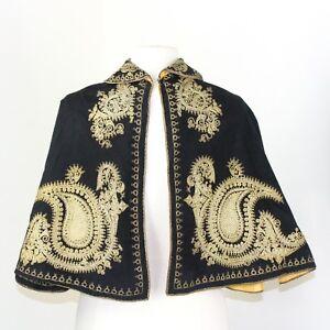 True Vintage Dickens Christmas Carolers Capelet Civil War Wool Victorian Cape