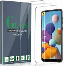 3 PACK For Samsung Galaxy A21 Tempered Glass Screen Protector Premium Guard