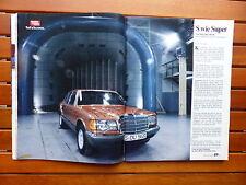 Mercedes S-Klasse 380 SE - Test - Auto Motor Sport Heft 10 / 1980