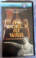 THE WORLD AT WAR 1-4, PAL PRE CERT THAMES/THORN EMI EX RENTAL RELEASE V2000