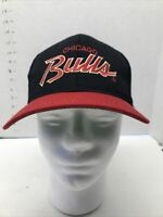 Vintage 90s Chicago Bulls Snapback Hat by Sports Specialties Cap Two Tone Rare