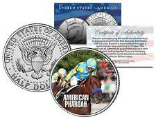 American Pharoah 2015 Triple Crown Winner Jfk Half Dollar Coin - Rare Test Issue