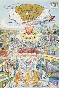 GREEN DAY DOOKIE POSTER PRINT NEW 24x36 FREE SHIPPING