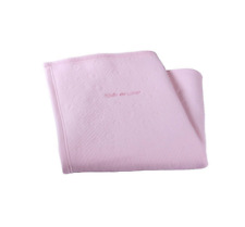 New in pack Clair de lune cotton candy blanket pink for pram & crib size 70x90cm