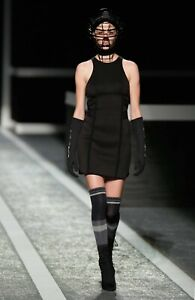 NEW Alexander Wang for H&M Black Scuba Dress with Bandage