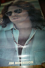"""Jim Morrison Vintage 1978 Doors Poster 24"""" x 26"""" Once Hung In A Record Store Htf"""