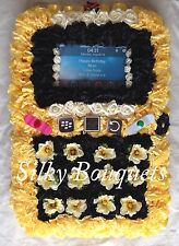 Phone Artificial Silk Funeral Flower Iphone Mobile Tribute Memorial Bepsoke