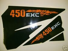 KTM 125>525 EXC 2004 - 2007 AIRBOX DECALS, STICKERS,GRAPHICS