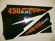 KTM 125>525 EXC 2004 - 2007 AIRBOX DECALS, STICKERS,GRAPHICS