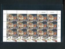 Israel Stamps:Sheet, 2010 * 9 X 15 * Zion Hall Jerusalem * MNH *