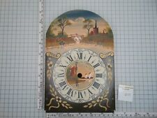 HAND PAINTED DIAL FOR SCHIPPERTJE WALL CLOCK NO MOON