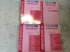 2003 Subaru Impreza Service Repair Workshop Shop Manual Set INCOMPLETE