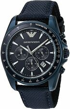 Emporio Armani Nylon Chronograph Mens Watch AR6132