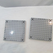 LEGO LOT OF 212X12 BRICK BASE PLATES WITH 3 PIN HOLES 47976