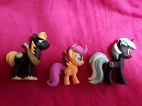 MY LITTLE PONY FUNKO MYSTERY MINIS MIXED LOT OF 3 PONIES *LOOK*