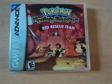 Replacement Gameboy Advance Pokemon Mystery Dungeon Red Rescue Team Box - Empty