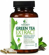 Green Tea Extract Supplement With EGCG For Weight Loss (1000 Mg) Boost and A -