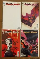 Batman The Shadow #1 Blank Cover  #2a #3c #4a (2017) DC Comics/Dynamite Comics
