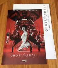 GHOST IN THE SHELL Limited IMAX Event Exclusive POSTER SCARLETT JOHANSSON
