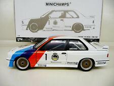 1:18 Minichamps BMW M3 E30 DTM 1987 Hessel Winner Zolder #1 NEU NEW