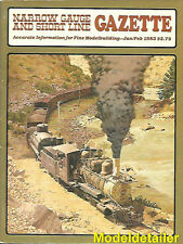 Narrow Gauge Gazette Jan.83 Eureka Black Hills & Fort Pierre Clear Creek Muskoka