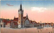 B92806 railway station danzig gdansk hauptbahnhof poland