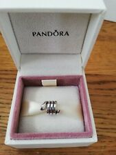 GENUINE PANDORA STERLING SILVER SMILING SNAKE CHARM 790171 RETIRED RARE 925 ALE