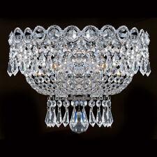 Palace Empire 3 Light Crystal Wall Sconce Wall light Chrome 12x6
