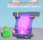 Roblox Islands - 3 Buffalkor Island Portals - In game item