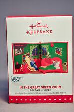 Hallmark: In The Great Green Room - Goodnight Moon - Keepsake Ornament