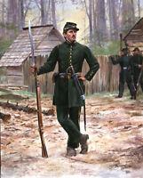 """""""Clinch Rifles, Georgia Militia 1861"""" Don Troiani Civil War Print"""