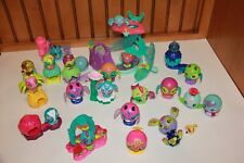 Lot of Zoobles Spinmaster ~ 7 Habitats and 18 Zoobles