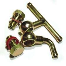 Weber 40 45 48 DCOE 2x Fuel Inlet Bolt screw + Elbow + Tee banjo fuel union set