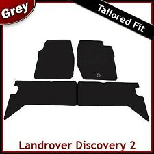 LAND ROVER DISCOVERY Mk2 / L318 1998-2004 Tailored Carpet Car Floor Mats GREY
