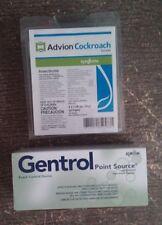 4 Tubes Advion Cockroach German Roach Control Bait 20 Gentrol Point Source Discs