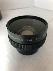 X0.6 WIDE CONVERSION Lens Japan  with cover  In excellent Condition