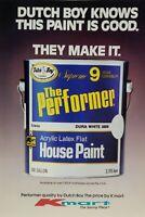 1982 Dutch Boy Paint Sold at Kmart Vintage Print Advertising