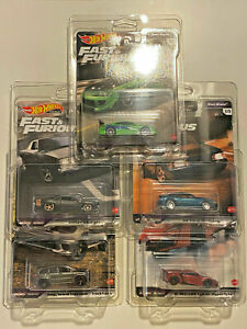 2021 Hot Wheels Fast & Furious Fast Stars FULL SET OF 5 With Protectors