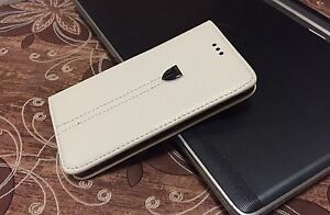 """Wallet Flip Leather Book Case Cover for Apple iPhone 6 / 6s Plus 5.5"""" - White"""