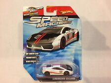 Hot Wheels - Speed Machines - Lamborghini Gallardo - White