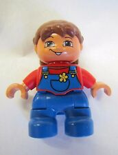 "LEGO DUPLO Brunette BABY GIRL INFANT TODDLER 1.75"" FIGURE for FAMILY HOME HOUSE"