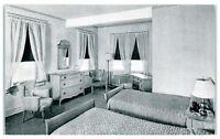 Mid-1900s Colonial Hotel Room Decor, 15th & M Street, Washington, DC Postcard
