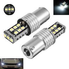 Pair Error Free Xenon White LED Bulbs For MK6 Volkswagen Jetta Daytime DRL Light