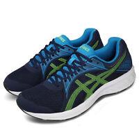 Asics Jolt 2 4E Extra Wide Peacoat Blue Green Men Road Running Shoe 1011A206-405